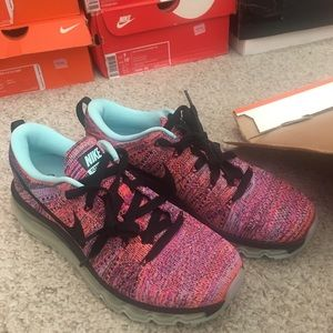 Nike women's air max Flyknit running shoes